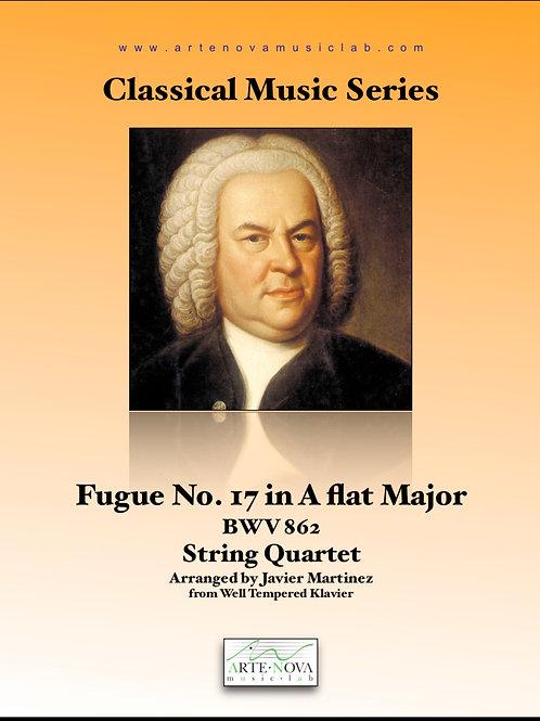 Fugue No. 17 in A Flat Major BWV 862