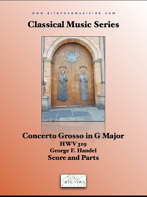 Concerto Grosso in G Major HWV 319.