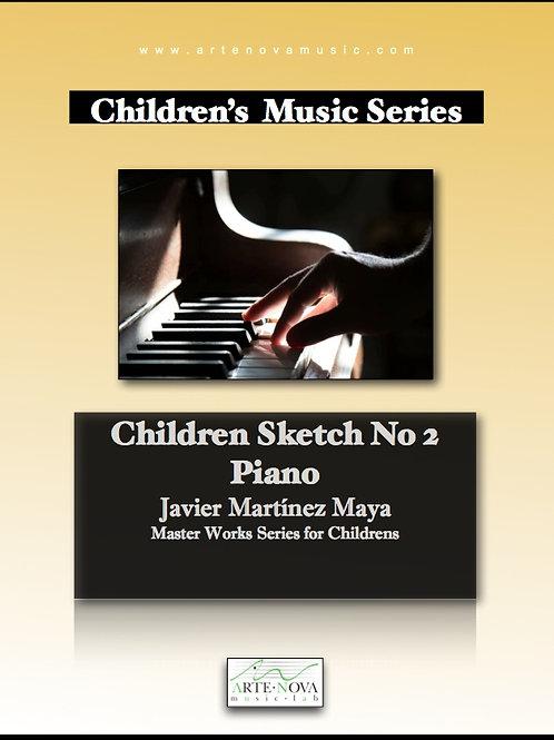 Children Sketch No. 2 for Piano.
