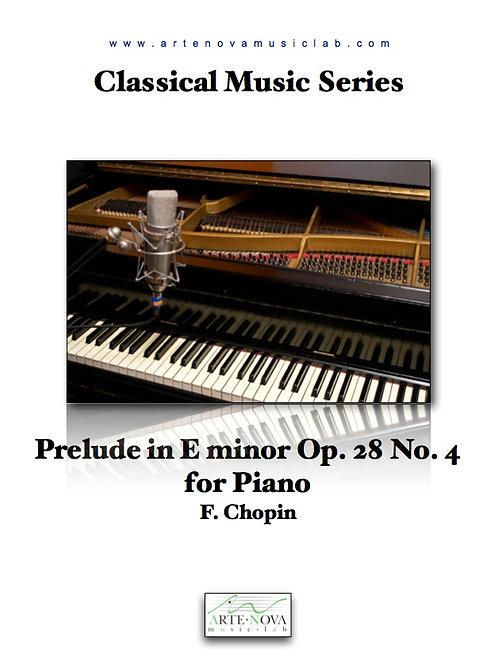 Prelude in E minor Op. 28 No. 4 for Piano.
