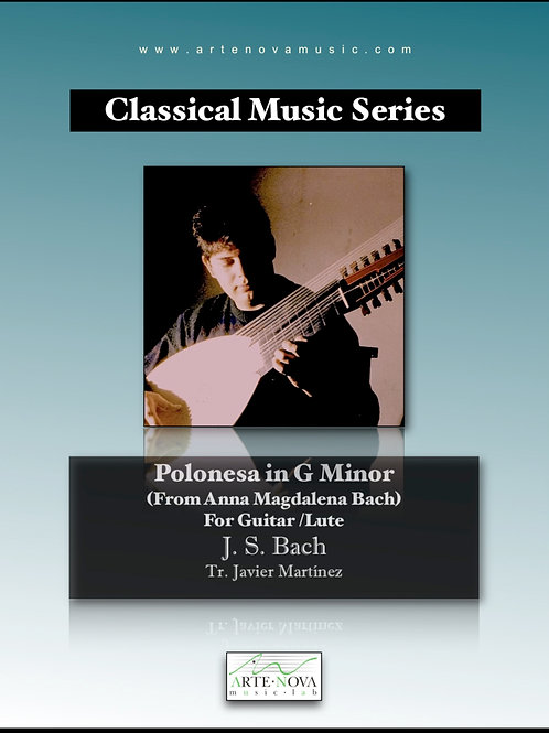 Polonesa in G minor for Guitar or Lute.