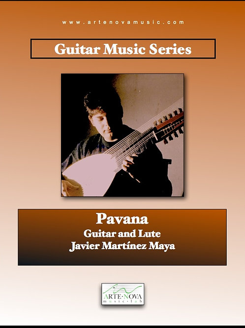 Pavana for Guitar.