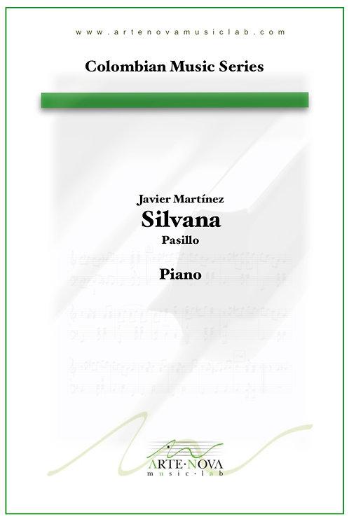 Silvana. Pasillo for Piano.