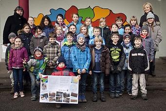 Margaretengrundschule Klassenfoto 4a und
