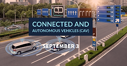 Connected and autonomous vehicles (CAV)