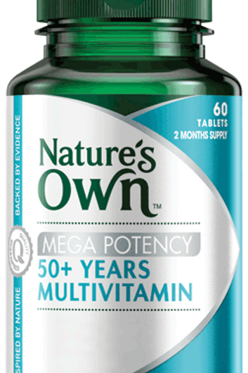 Mega Potency 50 Plus Years Multivitamin