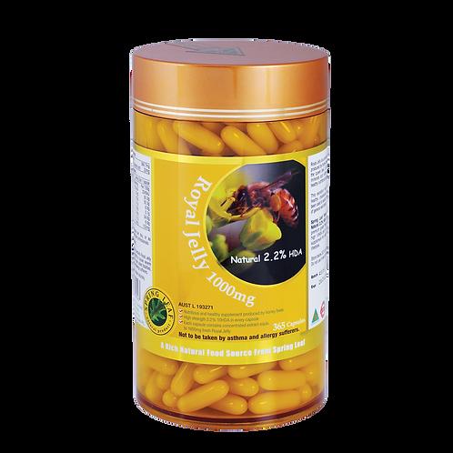 Royal Jelly 1000mg – Natural 2.2% HDA