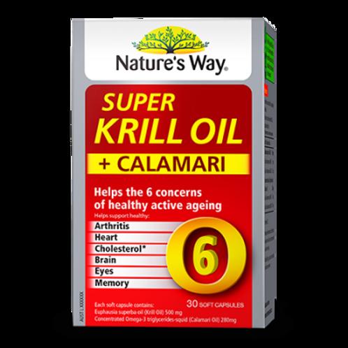 SUPER KRILL + CALAMARI OIL