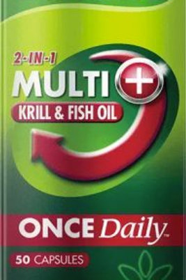 Cenovis Once Daily Multi + Krill & Fish Oil