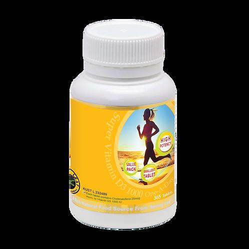 Super Vitamin D 1000 One-A-Day