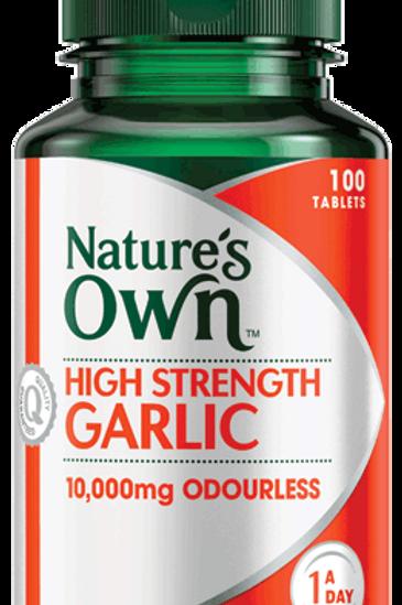 High Strength Garlic 10,000mg Odourless