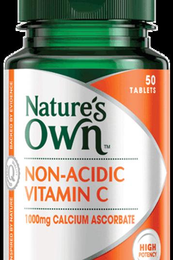 Non-Acidic Vitamin C, 1000mg Calcium Ascorbate