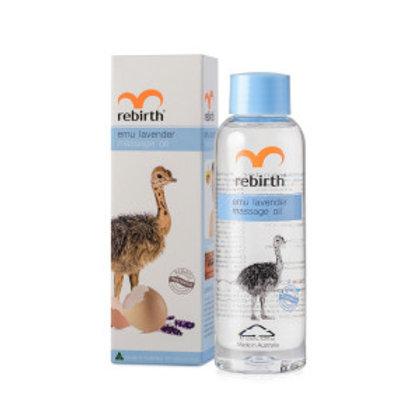 REBIRTH EMU LAVENDER MASSAGE OIL 125ML