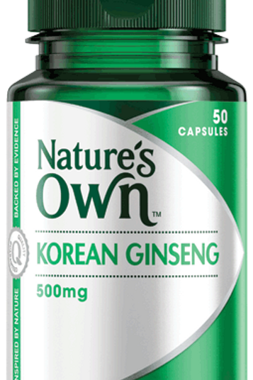 Korean Ginseng 500mg
