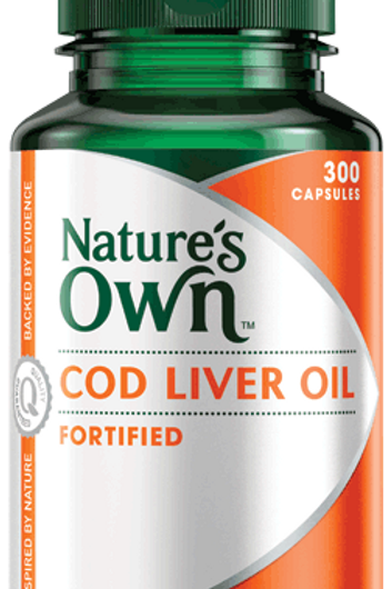 Cod Liver Oil Fortified