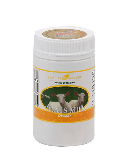 Goats-Milk Original 695mg Max 300 Tablets