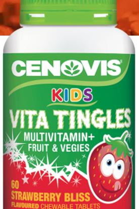 Cenovis Kids Vita Tingles Multivitamin + Fruit & Vegies