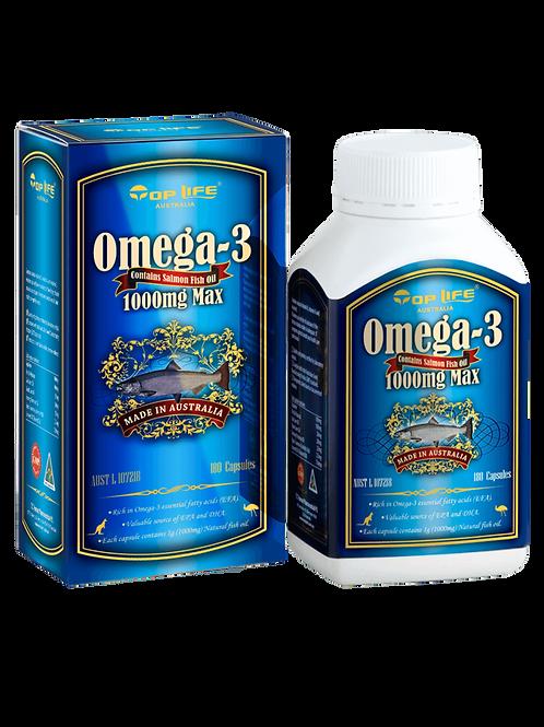 Omega-3 Contains Salmon Fish Oil 1000Max