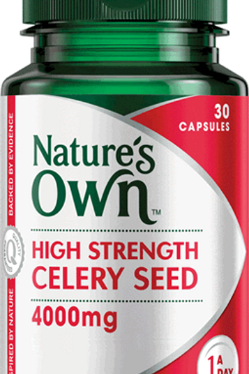 High Strength Celery Seed 4000mg