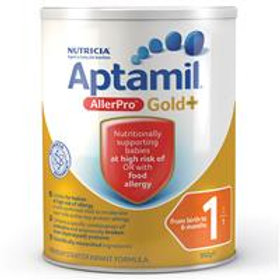 Aptamil Gold+ 1 AllerPro Infant Formula From Birth 0-6 Months 900g