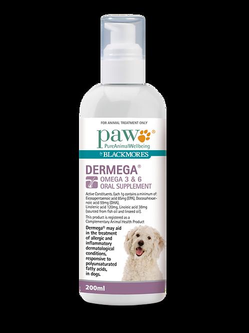 PAW Dermega® Omega 3 & 6 Oral Supplement