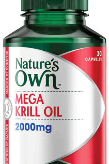 Mega Krill Oil 2000mg