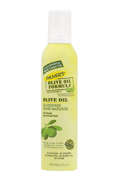 Olive Oil Formula Glossing Hair Mousse