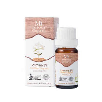 JASMINE AND EXTRACT CERTIFIED ORGANIC ESSENTIAL OIL (MR23) 10M