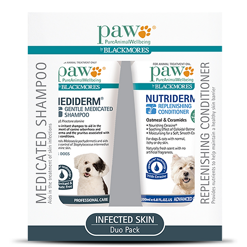 PAW Infected Skin Duo Pack