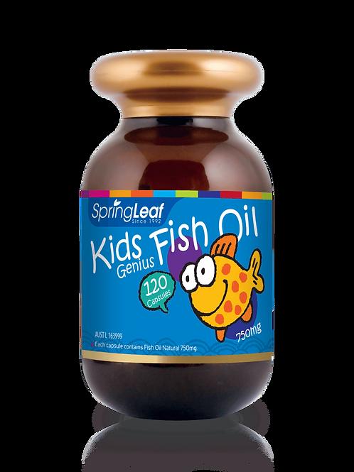 Kids Fish Oil 750mg