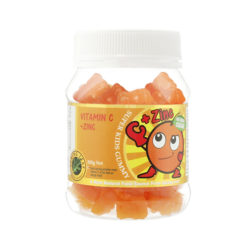 Super Kids Gummy – Vitamin C + Zinc