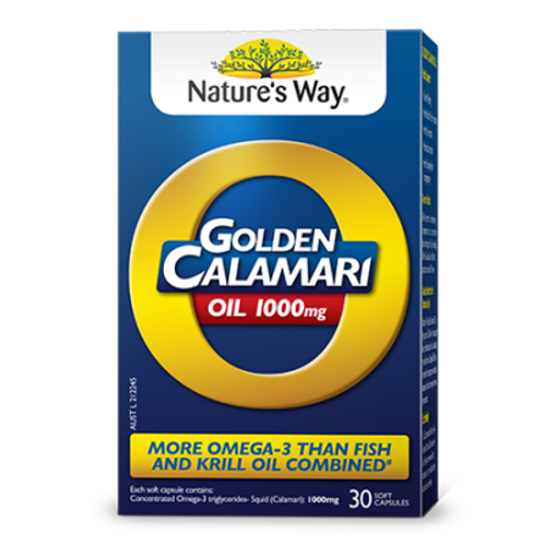 GOLDEN CALAMARI OIL 1000MG