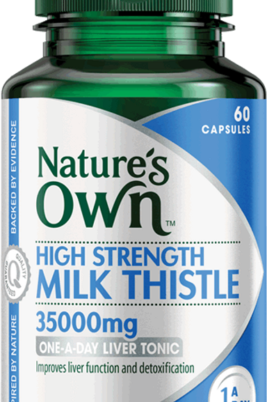 HIGH STRENGTH MILK THISTLE