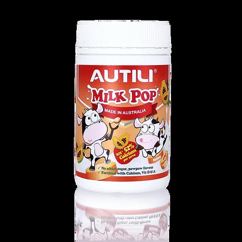 AUTILI MILK POP 850mg 180 chewable tablets (Pawpaw Flavour)