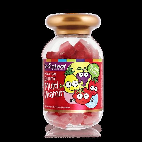 SpringLeaf – MultiVitamin (Top Wellbeing) Aussie Kids Gummy