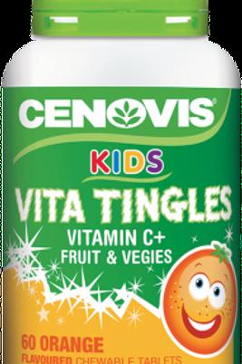 Cenovis Kids Vita Tingles Vitamin C + Fruit & Vegies