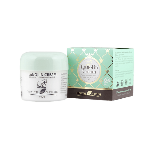 Lanolin Cream with Placenta Extract and Vitamin E