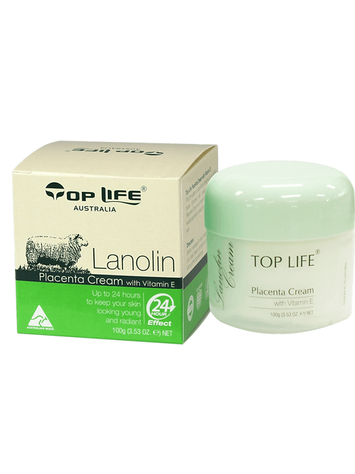 Lanolin Cream with Placenta Extracts and Vitamin E 100g