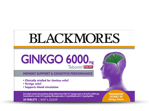 Ginkgo 6000 mg (Tebonin® EGb 761®)