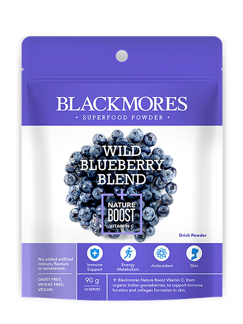 Wild Blueberry Blend + Nature Boost Vitamin C