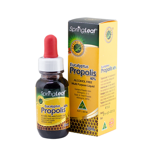 Eucalyptus Propolis Liquid Alcohol Free 40%