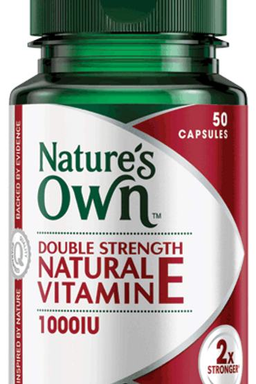 Double Strength Natural Vitamin E 1000IU