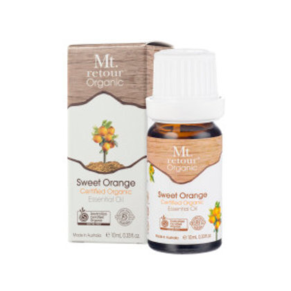 SWEET ORANGE CERTIFIED ORGANIC ESSENTIAL OIL (MR07) 10ML