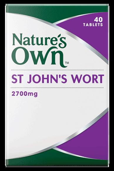 St John's Wort, 2700mg