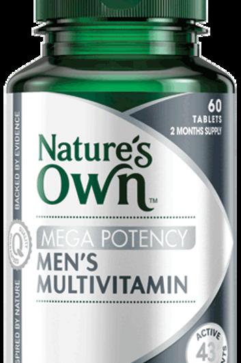 Mega Potency Men's Multivitamin