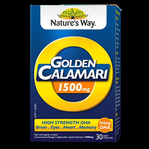 GOLDEN CALAMARI OIL 1500MG