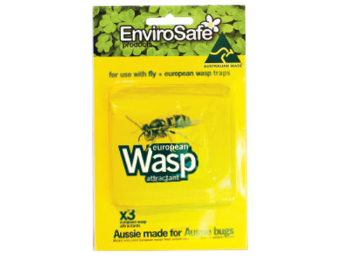 European Wasp Attractant 3 pack