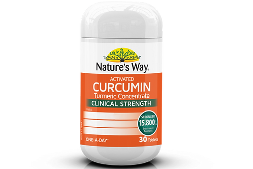 NATURE'S WAY ACTIVATED CURCUMIN 30S