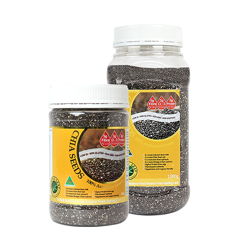 Chia Seeds 100% Australian Grown