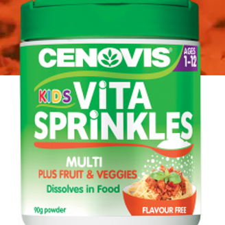 Cenovis Kids Vita Sprinkles Multi + Fruit & Vegies